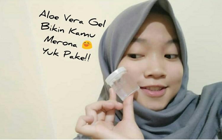 Aloe Vera Gel!! Kaya Vitamin Bikin Wajah-Mu Merona
