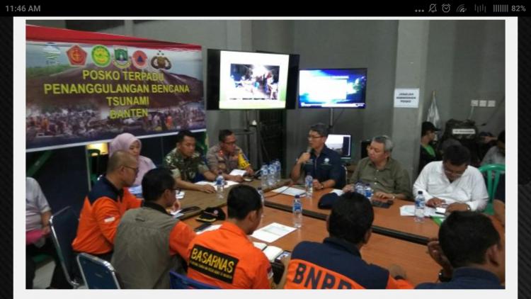 Basarnas Temukan lagi 3 Jenazah Korban Tsunami Banten