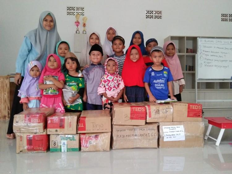 Desa Tenjo, Kab. Bogor Hadirkan Taman Baca Inovator Si Karel Tau Dari Blogger - TDB