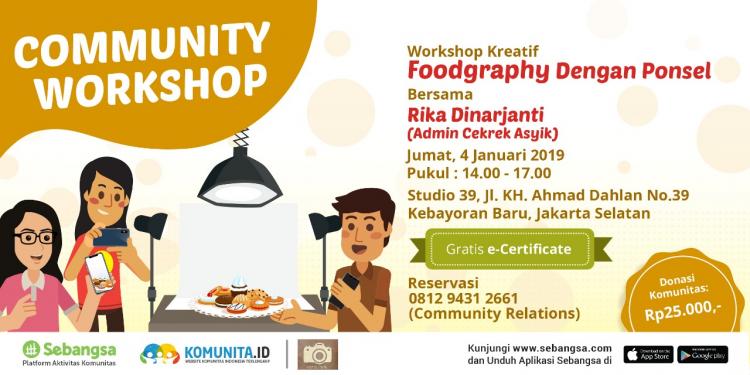 Foodgraphy Dengan Ponsel