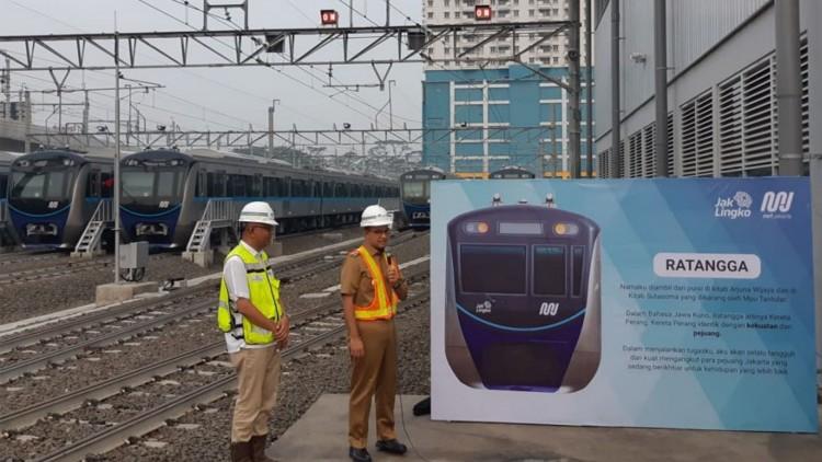 Gubernur DKI Jakarta Resmikan Nama Kereta MRT Jakarta  Tau Dari Blogger - TDB