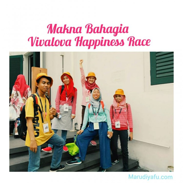 Makna Bahagia Vivalova Happiness Race