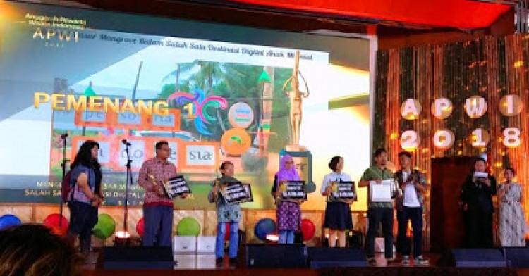 Malam Pesona Anugerah Pewarta Wisata Indonesia 2018