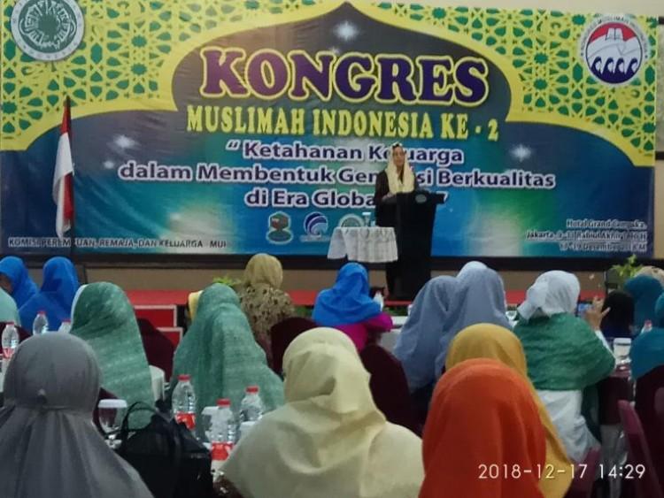 Menkeu dan Menag Hadir di Hari Pertama Konggres Muslimah Indonesia Ke-2