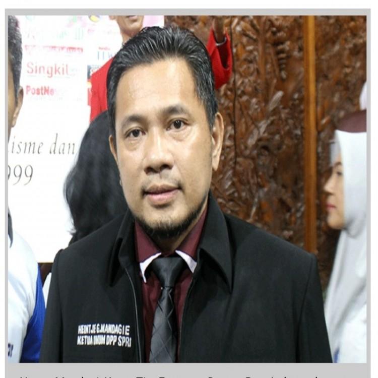 Pernyataan Hance Mendagi Selaku Ketua Tim Formatur  Dewan Pers Independen