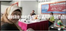 Posko Nataru PT ASDP