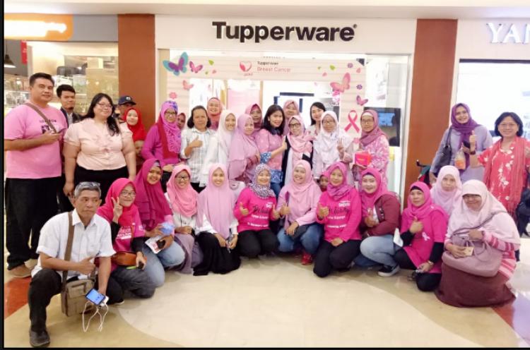 Tupperware Peduli Kanker Payudara di Indonesia