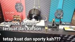 G-Shock Dari Serat Karbon, yakin kuat kah???
