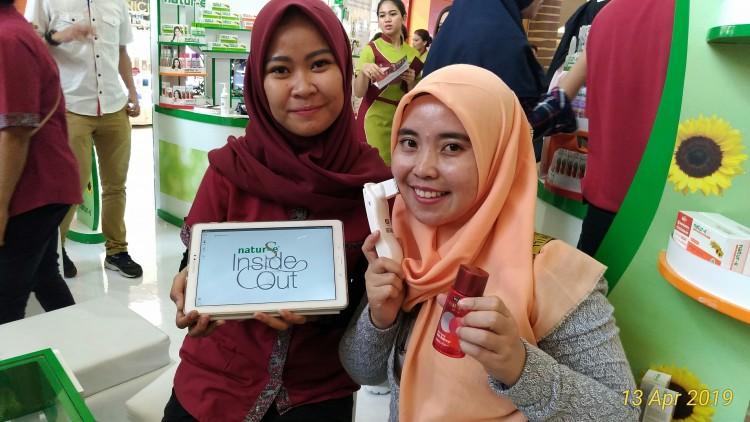 KecantikanMu KelebihanMu-Pengalaman Pertama Cek Kesehatan Kulit Di Booth Natur-E Mall Kelapa Gading 3 Tau Dari Blogger - TDB