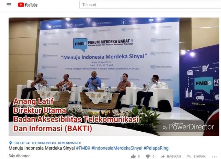 Menuju Indonesia Merdeka Sinyal Tau Dari Blogger - TDB