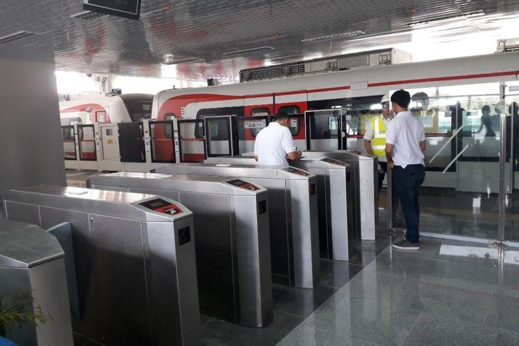 Stasiun LRT Velodrome Bakal Terhubung JPO ke Halte Transjakarta