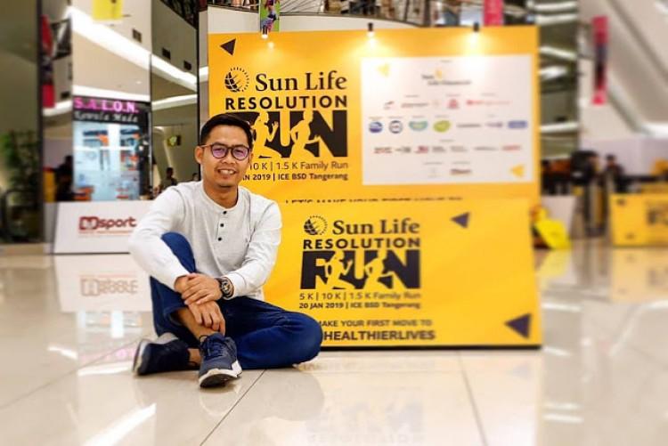 Aksi Nyata Hidup Sehat Bersama Sun Life Resolution Run 2019