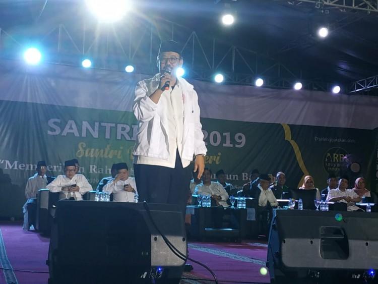 Arus Baru Indonesia (ARBI) Menggelar Santrifest 2019 di Serang, Banten