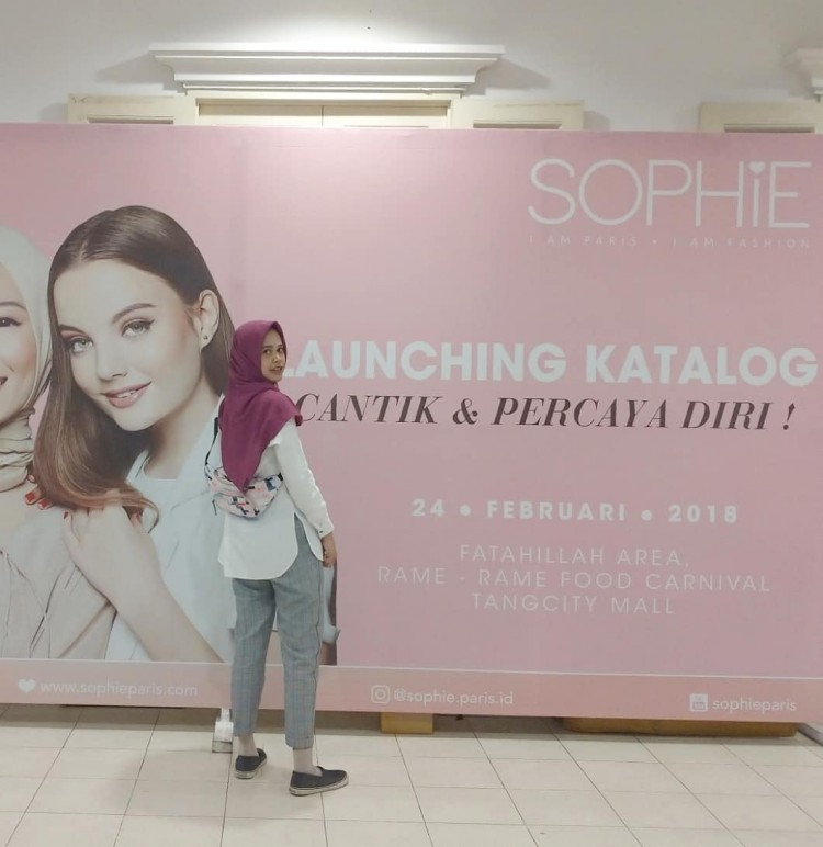 Launching Katalog Sophie Paris di Tangerang City Mall