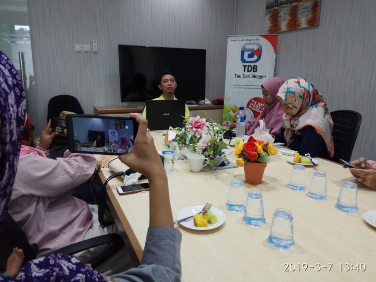 Pengumuman Pemenang Lomba Web TDB Periode Pertama Tau Dari Blogger - TDB