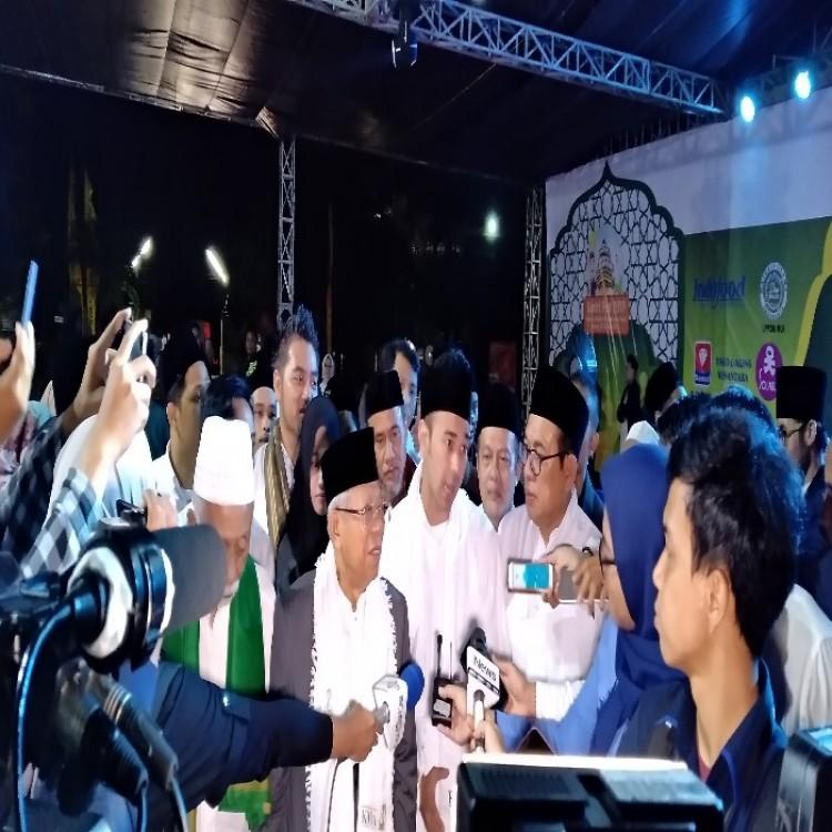 Raffi Ahmad Nge-Vlog Bareng Cawapres KH Ma'ruf Amin Dan Ribuan Santri Tau Dari Blogger - TDB