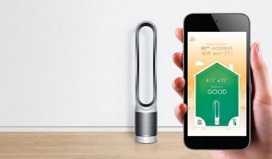 Keren Nih, Pembersih Udara Ini Bisa Di Akses Dari Smartphone