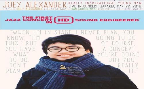Joey Alexander 'Pulang Kampung' ke Jakarta 22 Mei