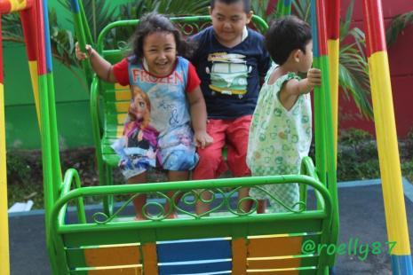 Pengalaman Ngabuburit Di RPTRA Krendang Yang Memiliki Berbagai Fasilitas Untuk Anak-anak