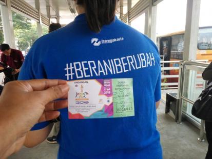 PT. Transjakarta #BeraniBerubah Menuju Lebih Besar Dan Lebih Baik Demi Kenyamanan Pengguna