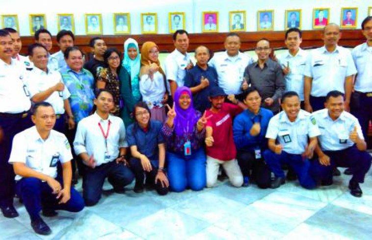 Halal Bi Halal Dan Diskusi PT Reska Multi Usaha (RMU) Di Stasiun Bogor