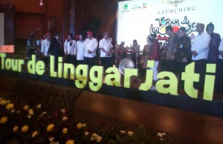 Launching Tour De Linggarjati : Ajang Balap Sepeda Internasional Di Kabupaten Kuningan