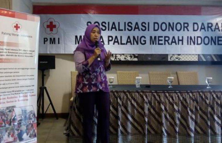 PMI Sosialisasikan Donor Darah Kepada Mitra PMI DKI Jakarta