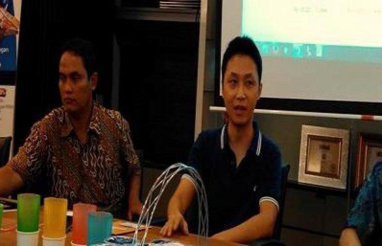 BSS Startup Digital Forum Bersama David Christian. Kreasi Gelas Dapat Di Makan