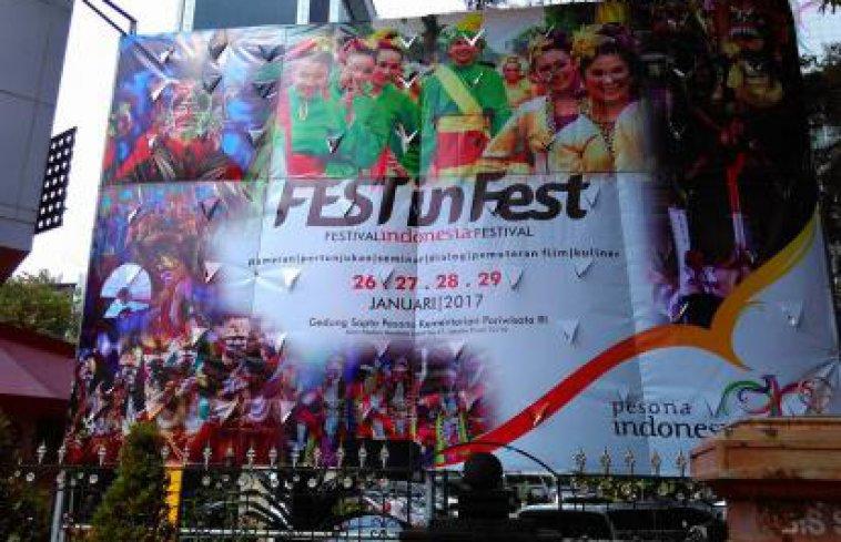 Festinfest Gedung Sapta Pesona Sebagai Destinasi Festival