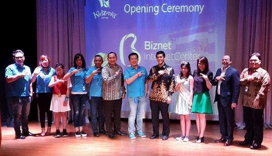 Biznet Hadirkan Edukasi Internet di KidZania Jakarta Grand Opening Biznet Internet Center